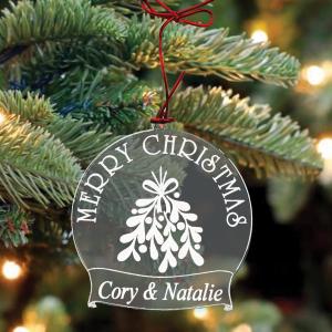 Custom Acrylic Christmas Ornaments