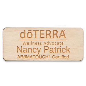 doTERRA Aromatouch Certified - wooden