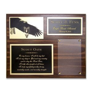 Eagle scout plaque premium.