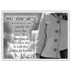 Missionary Definition Refrigerator Magnets - Sister