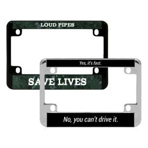 Motorcycle Custom License Plate Frame