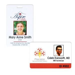 Photo ID Badges - 1 Sided