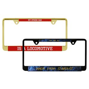 Visible State Custom License Plate Frame