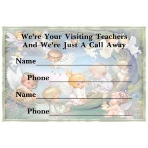 Refrigerator Magnets - Visiting Teachers Contact Information