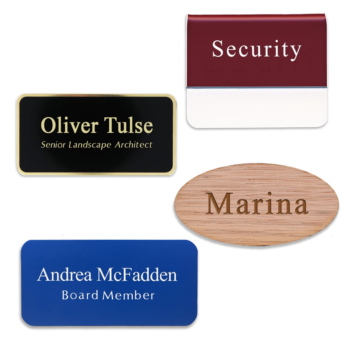 Text Name Tags